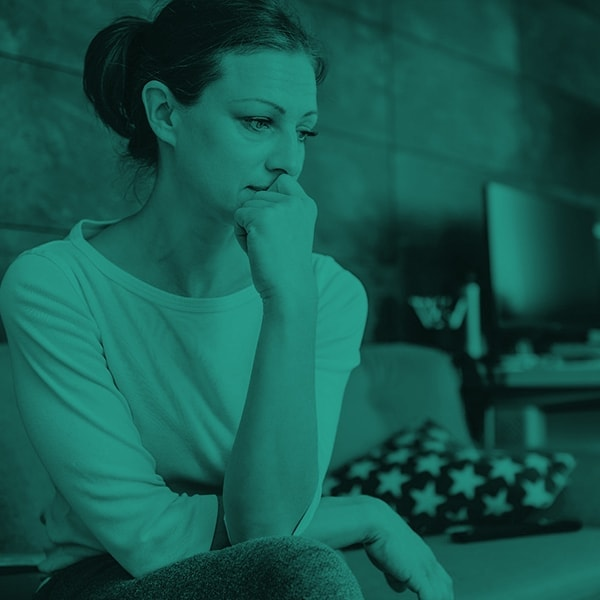 Woman with chronic condition worried about her future